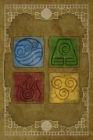 Avatar Elements iPhone Wallpaper (with color) by Pixilpadaloxicopolis