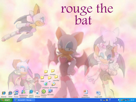 rouge the bat wallpaper by eagla-the-eagle