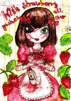 Strawberry Gashes by GothiLalita