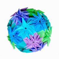 Star Ball Kusudama by metranisome