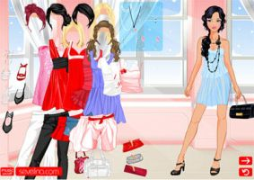 V-day Dressup game by sevelina