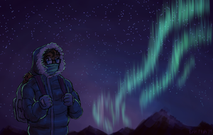 Northern Lights AU by ErinPtah