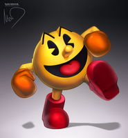 Pac-Man by hybridmink