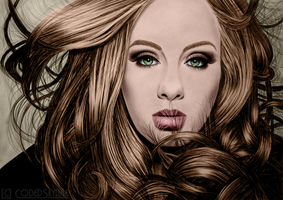 Adele - Queen of Pop and Soul by CodedSkyline