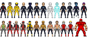 my x-men universe by uchiha1210
