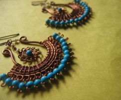 maya earrings by pikabee