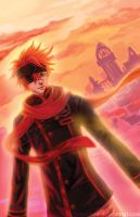 Lavi's Sunset by quinkee