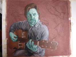 My father -underpainting- by ConcreteRainx