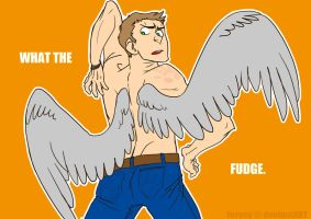 god I need to draw something else than wings srsly by hollyoakhill