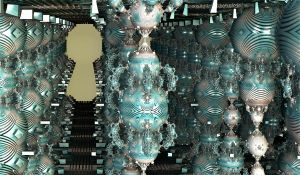 turquoise silver ball columns by Andrea1981G