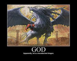 Demotivational: God by RikotheFoxKid