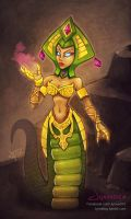 Cassiopeia | League of Legends by Jynxed-Art