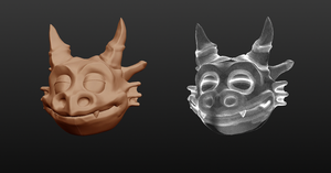 First attempt at Sculptris by Kidel
