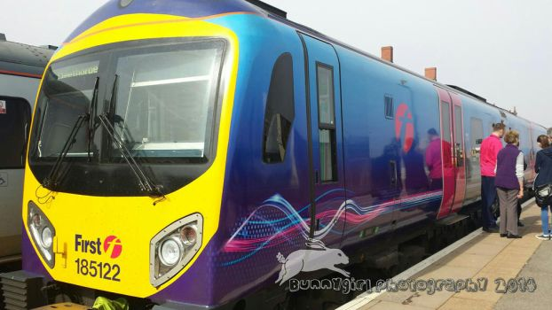 Transpennine Express train  by Bunnygirlphotography