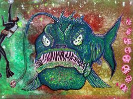 Angry Angler Andy by barbosaart