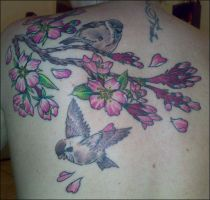 My back tattoo by LaceyPink