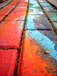 Follow the Rainbow Brick Road by yexy