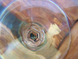 bottom of wine glass by sifreeman