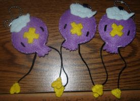 drifloon charms by rollypops