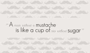 A man without a mustache... by ac2377