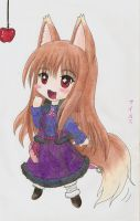 Spice and Wolf - Horo by Evening-Amethyst