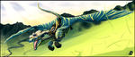 Go Faster blue FASTER!!!! [w] by Bluehasia