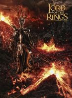 The Lord Of The Rings - Sauron by tomzj1