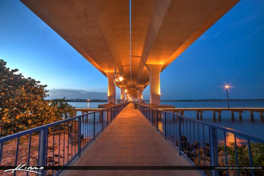 Roosevelt-Bridge-Stuart-Florida-Under-the-Bridge by CaptainKimo