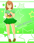 Happy Birthday Ditha! by GredellElle