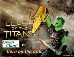 Clash of the Titans by VicDillinger