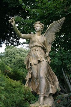 Angel statue Stock 16 by Malleni-Stock