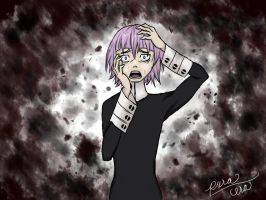 MY BLOOD IS BLACK - (Crona Wallpaper) by pura-cera