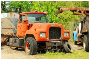 An Old Mack Truck Rusting Away by TheMan268