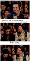 bad dog. by four-panel-fanfics