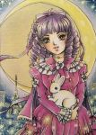ACEO #53 Madelaine in Paris by Toto-the-cat