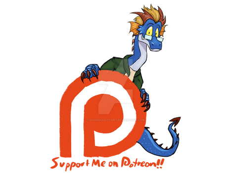 I'm on Patreon! by moviedragon009v2