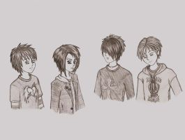 Emo guys by Marie-Morgan