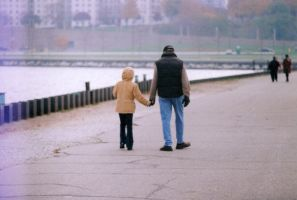 Father And Daughter by Lomo440
