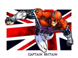 CAPTAIN BRITAIN by Zetr0C
