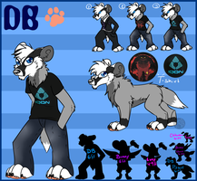 Reference Sheet Point Commission: DB by BipolarWolfy
