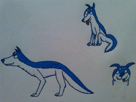 Arctic Vargling Design by DragonMage156