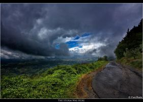 The Storm Was Here by Marcello-Paoli