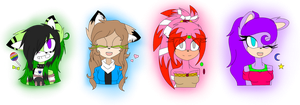 |. Lil special gifts. .| Warning: long desc. by JessieTheTiger