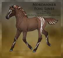 7455 Foal Design by Cloudrunner64