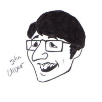 John Oliver by pixie-the-gator