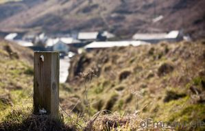 Looking down to Port Gaverne by oEmmanuele
