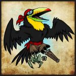 Pirate Toucan by Revelationchapter9