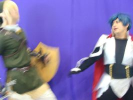Link Vs thanatos RO 01 by Anduriill