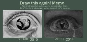 Draw This Again Eye by acjub