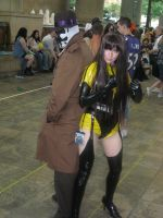 Rorschach and Silk Spectre by AngstyGuy